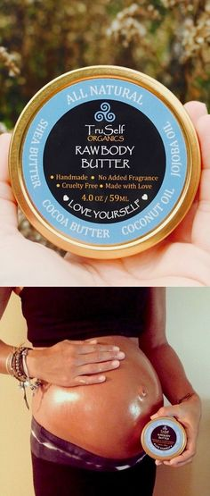 Whether you are experiencing stretch marks from a past pregnancy, a growth spurt, or rapid weight gain, our vegan Raw Body Butter is exactly what you need to help heal your skin. Don't be fooled into purchasing expensive and smelly stretch mark creams that contain harsh chemicals and hormone disruptors. Stick to the stuff that's all-natural… It's always the best option!