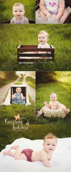 Courtney Jackson Photography // Marietta, Ohio photographer // milestone session // 6 month session // baby photography // sitter session // 6 month milestone session // natural light photography