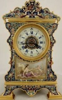 Beautifully Detailed Mantle Clock