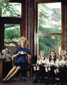 """""""Finishing School"""" by Corrie Bond for Marie Claire Australia"""