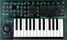 ROLAND SYSTEM-1 Software synthesizer [buy 145 USD]   Whoop whoop! the mighty SYSTEM-1 is now available as a software synth / plugin!   - 2 ultra-versatile oscillators with sub-oscillator and noise generator - 12 oscillator types including Super Saw, Super Square, FM, Vowel and more - Cross Modulation and oscillator Color controls for continuous waveform changes - Advanced arpeggiator with Scatter function - -12 dB and -24 dB filter types with independent high-pass filters - Tone knob for…