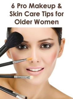 Makeup and Skin Care Tips for Older Women
