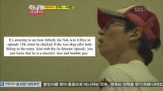 Jae Suk instinctively takes care of the other members <3