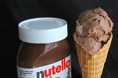Nutella Gelato: (about 4 cups), 2 cups whole milk, 1 cup heavy cream, 1/2 cup sugar, plus 1/4 cup, 4 eggs yolks 1/2 t vanilla, 1/2 cup Nutella, dash of salt.