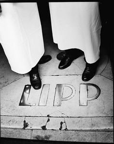 Brasserie LIPP Paris - loved the authenticly rude waiters