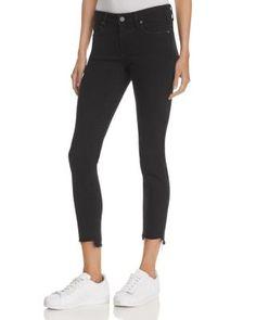 PAIGE Verdugo Ankle Jeans in Vintage Black. #paige #cloth #black