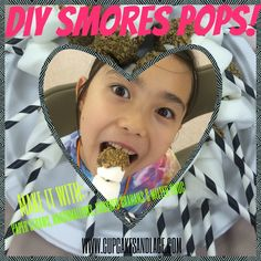 Make it with paper straws, marshmallows, melted chocolate and crushed graham crackers! Girl Scout Badges, Girl Scout Troop, Girl Scouts, Girl Scout Crafts, Melted Chocolate, Paper Straws, Graham Crackers, Marshmallows, Diy Crafts For Kids