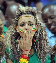 One of ethiopian girl i've liked, that was in Africa cup We Are The World, People Of The World, African Beauty, African Women, Beautiful Black Women, Beautiful People, Ethiopian Beauty, Ethiopian Hair, Ethiopian People