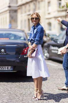 Come indossare e come abbinare una camicia di jeans