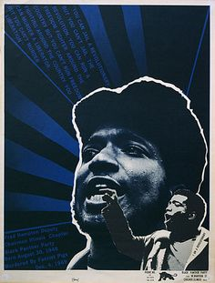 Black Panther poster by Emory Douglas (1970)