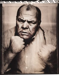 Lenny McLean - one of the deadliest bare-knuckle fighters Britain has ever seen.  When right was right, and wrong got a broken nose.