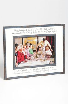 Bens Garden Family Tells The Story 5x7 Picture Frame available at Nordstrom