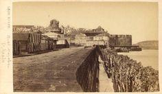 Saint-Malo, quai Napoléon vers 1880 (photographe Léon Rosse) https://www.facebook.com/ArchivesMunicipalesDeSaintMalo