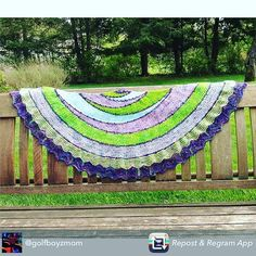 Love When My Customers Tag Me On Instagram  @westknits check it out . #yarnpimpextraordinaire #westknitsarethebestknits #hedgehogfibres #hedgehogfibresaddict #westknits #explorationstationshawl Repost from @golfboyzmom using @RepostRegramApp - Finished!  Exploration Station yarn purchased at the amazing #doeweknit