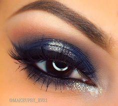 Blues on brown eyes