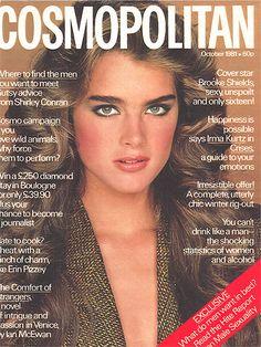 Bruk Šilds je imala samo 16 godina kada se slikala za Cosmo (oktobar 1981)