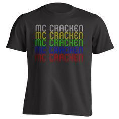 Retro Hometown - Mc-Cracken, KS 67556 - Black - Small - Vintage - Unisex - T-Shirt