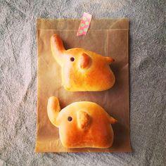 ぞうさん パン by kanapin at 2014-03-23