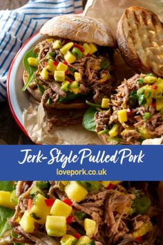 Tasty, tender and slow cooked, our Jerk-Style Pulled Pork with a mango salsa recipe is sure to have you licking your lips. Serves six people so there's plenty of this delicious pulled pork to share around!