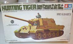 Vintage Tamiya Nazi Germany Hunting Tiger Panzer Tank Model 1:35th Scale Jagd Jagt Kfz 186s German Nazi World War II Two Allied Destroyer by MarksVintageShoppe on Etsy