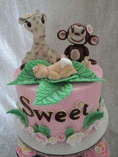 jungle theme baby shower cakes   Jungle Theme Baby Shower Cake Baby Shower Photos, Baby Shower Cakes, Baby Shower Themes, Baby Boy Shower, Shower Ideas, Pretty Cakes, Cute Cakes, Beautiful Cakes, Amazing Cakes
