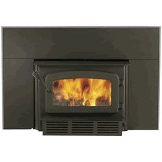 Drolet Escape 1400  Wood Burning Fireplace Insert W Blower Included - DB03120