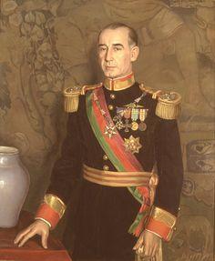 Presidente Francisco Craveiro Lopes (1894 - 1964) by Eduardo Malta (1900 – 1967…