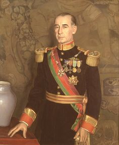 Presidente Francisco Craveiro Lopes (1894 - 1964) by Eduardo Malta (1900 – 1967, Portuguese) ( Museu da Presidência da República )