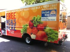New Haven Public Schools' summer food truck will deliver an expected 40,000 free meals to kids in eligible neighborhoods during July and August (via NPR)