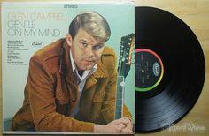 Glen Campbell  Gentle on My Mind 1967 Vinyl LP Catch The $7.99