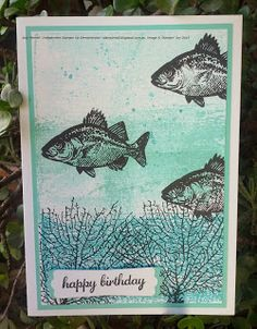 Stampin4All: A little Ocean Fun using Stampin' Up! Set By The Tide