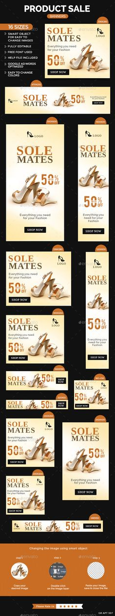 Product Sale Banners Template