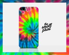 TIE DYE iphone 5 case rainbow iphone case by TheSmallPrintCases, £10.99