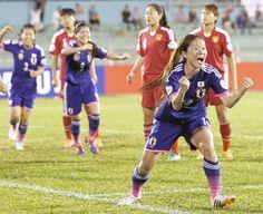 なでしこ劇的勝利で決勝!/アジア杯詳細 - サッカー日本代表ニュース : nikkansports.com
