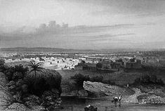 1850 steel engraving of Kano, Nigeria This is a faithful photographic reproduction of a two-dimensional, public domain work of art.