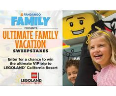 Win a Trip to LegoLand California from Fandango - http://freebiefresh.com/win-a-trip-to-legoland-california-from-fandango/