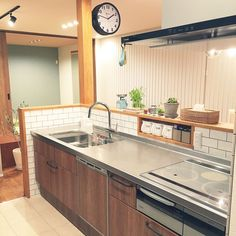 Kitchen design ideas for your next project. We have all the kitchen planning inspiration you need for the heart of your home, whatever your style and budget. Diy Kitchen Storage, Kitchen Decor, Japanese Kitchen, Kitchen Collection, Stainless Steel Kitchen, Updated Kitchen, Interior Design Kitchen, Home Kitchens, Living Room Designs
