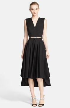Robert Rodriquez Open Back Belted Fit & Flare Dress available at #Nordstrom