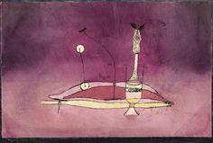 """Paul Klee, """"Bild aus dem Boudoir"""" (Image tirée du boudoir), 1922, Zentrum Paul…"""
