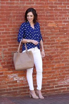 18 Ways to Wear White Jeans for Spring and Summer