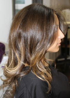 Summer hair  #brunette #subtle hilights #ombre