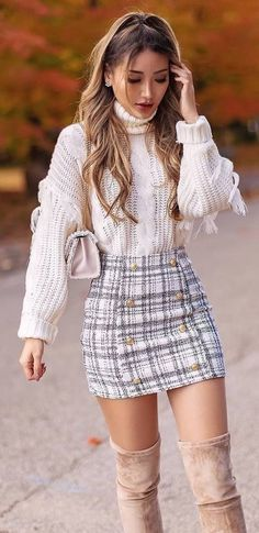 Cute Skirt Outfits, Girly Outfits, Cute Casual Outfits, Stylish Outfits, Casual Dresses, Classy Outfits For Women, Rock Outfits, Teenager Outfits, Grunge Outfits