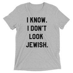 Just in: Signature Style I... Go get yours: http://www.proudjews.com/products/signature-style-i-know-i-dont-look-jewish-mens-t-shirt?utm_campaign=social_autopilot&utm_source=pin&utm_medium=pin #jewish shirts