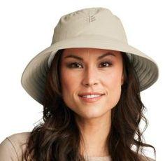 Coolibar Women's Wide Brim Ultra Light Summer Sun Hats