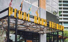 Pedal Haus Brewery branding
