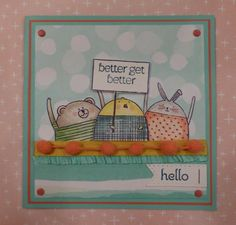 Cheerful Critters rock! by ponygirl40 - Cards and Paper Crafts at Splitcoaststampers