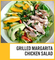 This was delish!  I used a pomegranate margarita mix, very tasty, and I marinated the chicken beforehand instead of basting during cooking.  Great combination of flavors, easy and fresh.  Loved it!  (Picture by me, linked to original recipe)