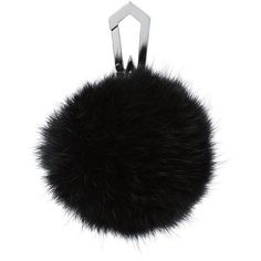 Fur Mini Pom Pom ($54) ❤ liked on Polyvore featuring accessories, stuff, mini key chain, pom pom key chain, fur pom pom key chain and fur key chain