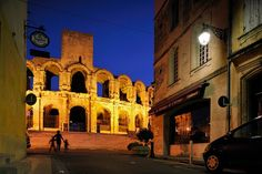 Evening walk at the Roman Amphitheatre, Arles, Provence, by Jim Richardson, via Flickr