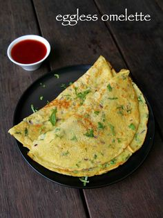 eggless omelette recipe, vegetable omelette recipe, veggie omelette with step by step photo/video. a vegetarian alternate to popular egg omelette recipe. Vegetable Omelette Recipes, Veg Recipes, Spicy Recipes, Curry Recipes, Veggie Omelette, Cooking Recipes, Recipe For Omelette, Mexican Rice Recipes, Vegetarian Recipes Videos